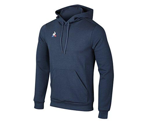 Le Coq Sportif Herren Hoody Presentation Coton Sweatshirt, Blau (Dress Blues), XL