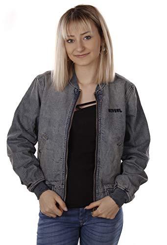 Diesel G-Asy-A Jacket Damen Jeansjacke Wendejacke Blouson (XS, Blau)