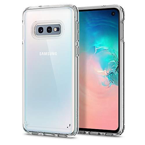 Spigen Funda para Samsung Galaxy S10E Ultra Hybrid con Tecnología de cojín de Aire y protección híbrida de la caída - Transparente