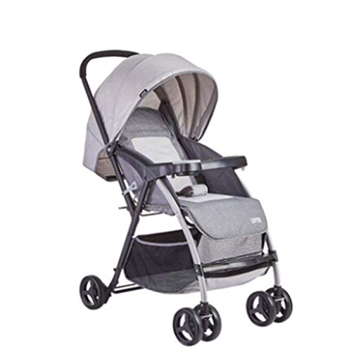 Great Price! Stroller Can Sit Reclining Light Cart Two-Way Folding Baby Stroller Push Rod Two-Way