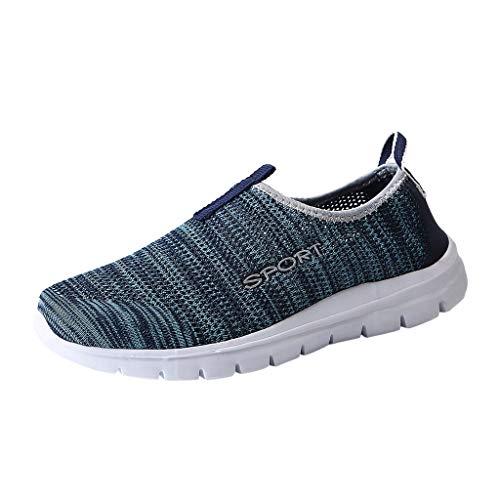 LILIHOT Paar gewebte rutschfeste Turnschuhe mit atmungsaktivem lässigem Laufschuh Mode Freizeit Laufsport Socken Schuhe Damen Student Beiläufig Elastisch Leichtgewichtige Turnschuhe