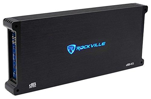 Rockville dB45 3200 Watt/800w CEA RMS 4 Channel Amplifier Car Stereo Amp, Loud!!