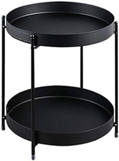 JIAYING Unidades de estanterías 2-Tier Permanente Plataforma Unidades Storage Utility Estante metálico de baño estante de la cocina, cómodo y duradero, for Condimentos Bebidas Cosméticos, colores múlt
