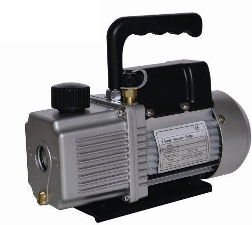 Vacuum Pump Air Conditioner Refrigeration 6.0 CFM 2 Stage 1/2 HP HVAC/R Service 110v