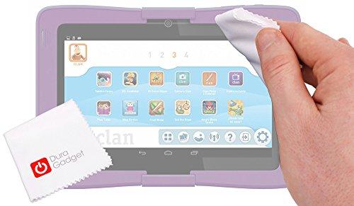 DURAGADGET Gamuza Limpiadora para Cefatronic Tablet Clan/Clan 2 / Clan Tortugas Ninja/Advanced - Ideal para Mantener Su Pantalla Impecable