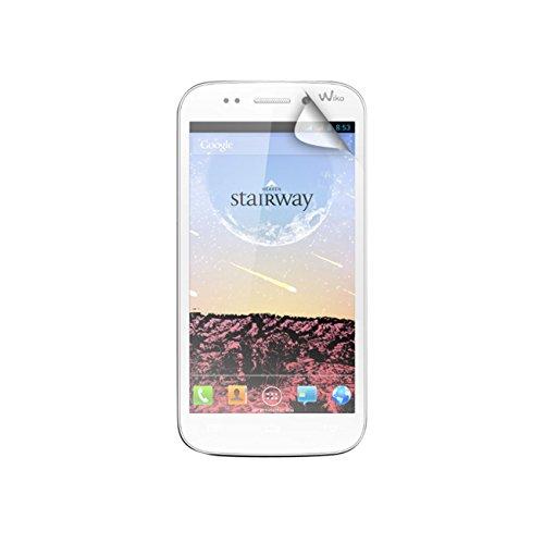 Unbekannt Blueway PEWIKOSTAIRWAY Bildschirmschutzfolie für Wiko Stairway, transparent, 2Stück