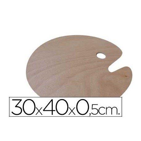 Artist 4610044 - Paleta madera ovalada, 30 x 40 cm