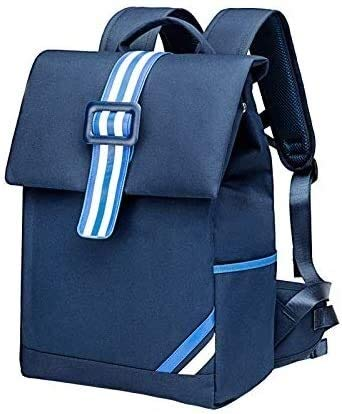 Social Liuzi Mochila escolar para niños de 8 a 12 años de edad, bolsas de guardias de 1 a 3 a 6 grados, mochila para niñas y niñas con carga social Liuzi (color 1)