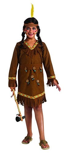 Drama Queens Native American Girl Costume, Large