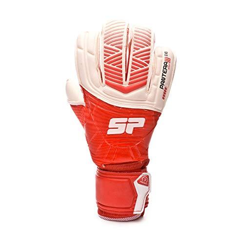 SP Fútbol Pantera Orion Pro Protect, Guante de Portero, Rojo-Blanco, Talla 7
