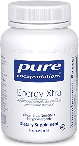 Pure Encapsulations - Energy Xtra - Energy-Promoting Adaptogen Formula - 60 Capsules