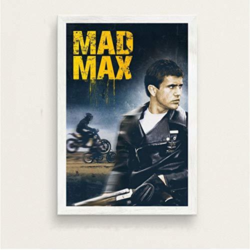 Mad Max Classic Filmreihe Kunst Malerei Seide Leinwand Poster Wand Wohnkultur 50 * 70Cm No Frame