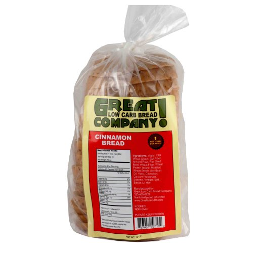 Great Low Carb Bread Co. - Cinnamon - 1 Loaf