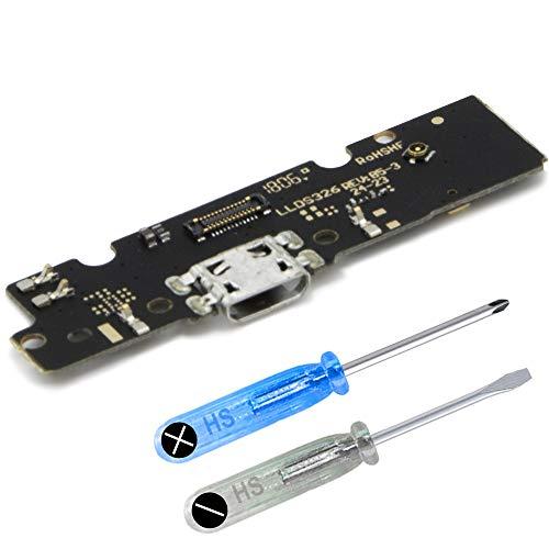 MMOBIEL Connettore Dock Porta di Ricarica Micro USB Charger Port Compatibile con Motorola Moto E5 Plus 6.0 inch