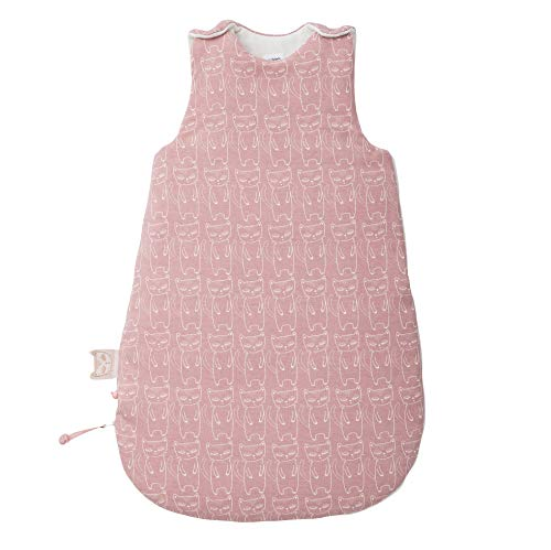 Noukies BB1860.61 Imagine Jersey Schlafsack 70 cm, rosa