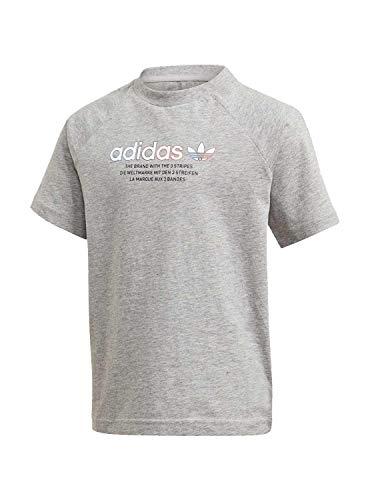 Camiseta Adidas Adicolor Graphic Gris Niño Y Niña 5 años