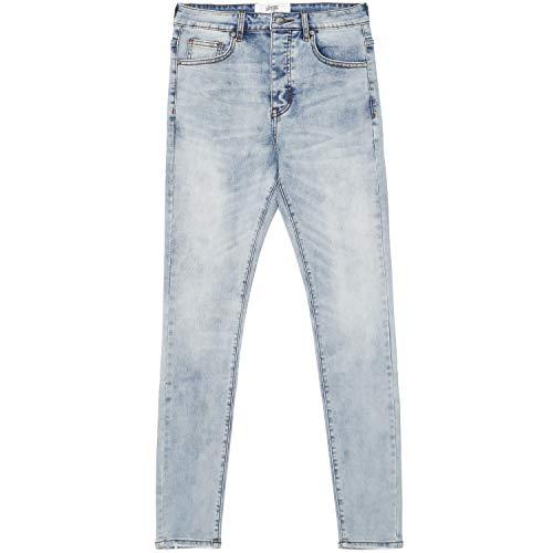 Sixth June Jeans Hell Blue Gr. 36 DE/XL, blau