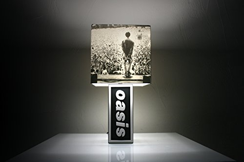 Oasis Lamp + Slane Castle Shade - Definitely Maybe, What the Story?, Be Here Now - Non copertina per album