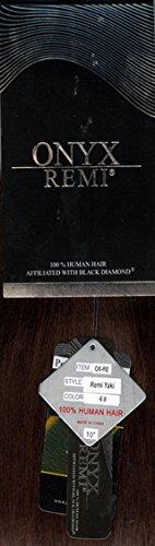 "Black Diamond ONYX REMI 100% Human Hair YAKY 14"" - (#1)"