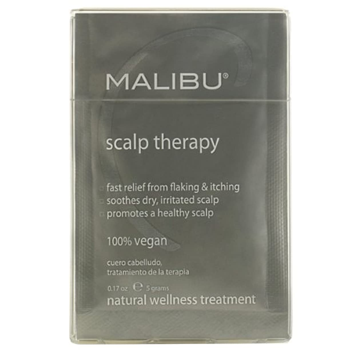 被る思慮のない郵便局Malibu C Scalp Therapy Wellness Scalp Remedy 12x5g/0.17oz並行輸入品