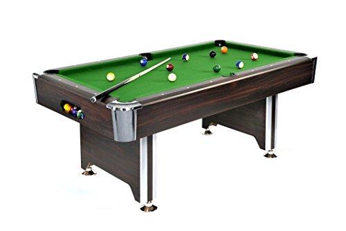 Pool Billardtisch Sedona 6ft groß inkl. Zubehörset von John West