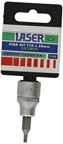 Laser - 3165 Embout en étoile T10 x 50mm 3/8\