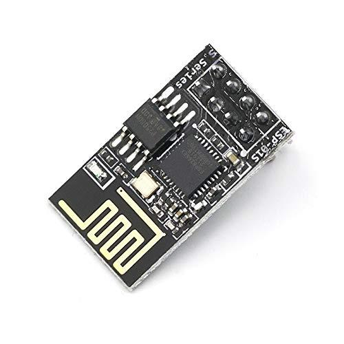 IGOSAIT ESP8266 ESP-01/01S 5V módulo de relé WiFi cosas Smart Home Control remoto interruptor teléfono APP ESP01 ESP-01 módulo inalámbrico WIFI (tamaño: ESP 01S)