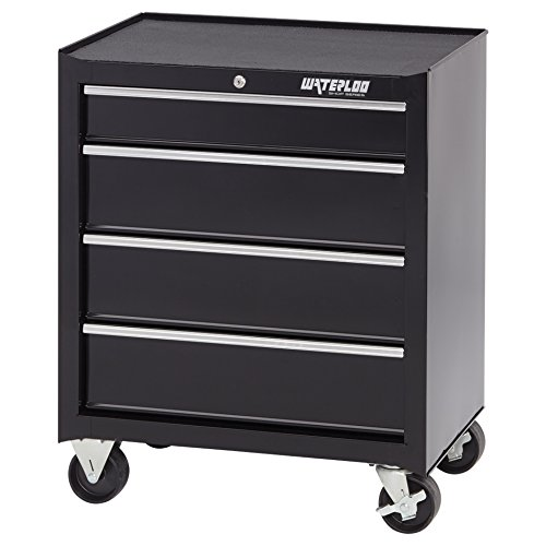 "Waterloo 4-Drawer Ball-Bearing Tool Cabinet, 26"" W - Designed, Engineered and Assembled in the USA"
