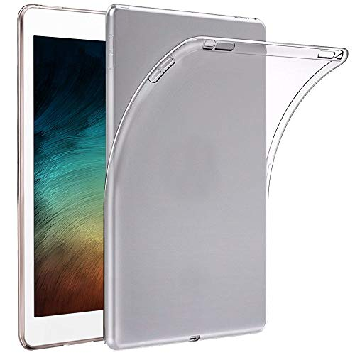 ebestStar - Case Compatible with iPad Air (2020) 10.9, iPad Air 4 Apple Case Silicone Gel Anti-Shock Ultra Slim Invisible, Transparent [iPad: 247.6 x 178.5 x 6.1 mm, 10.9 Inch]