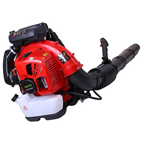 ZWYSL Backpack Snow Leaf Blower, 2-Cycle Engine Gas Powered Leaf Blower Gasoline Engine Road Blower Portable Wind Extinguishers High Power Cordless Sweeper