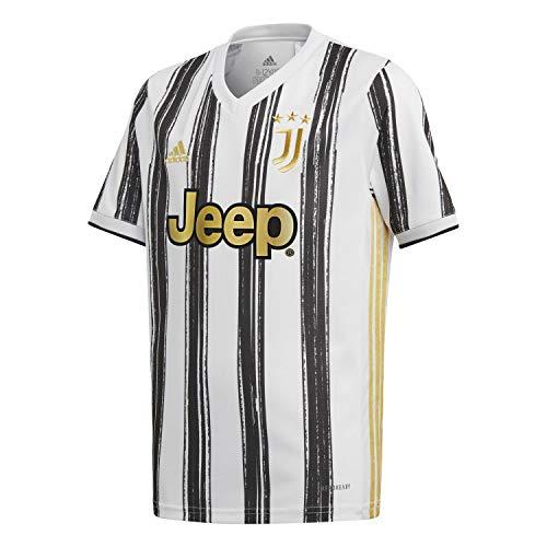 adidas Juventus FC Temporada 2020/21 JUVE H JSY Y Camiseta Primera equipación, Niño, White/Black, 140