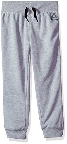 Reebok Mädchen Athletic Jogger Jogginganzug, 3026-medium Heather Grey, 6X