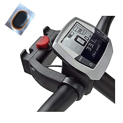 maxxi4you Angebot-Set / 1 x Klickfix Lenkeradapter E Korb Karten Taschenhalter Standard 22-31,8 mm inkl. 1 Schlauchflicken