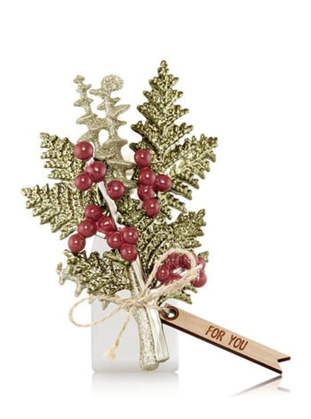食堂達成後退する【Bath&Body Works/バス&ボディワークス】 ルームフレグランス プラグインスターター (本体のみ) ウィンターボタニカル Wallflowers Fragrance Plug Winter Botanical [並行輸入品]