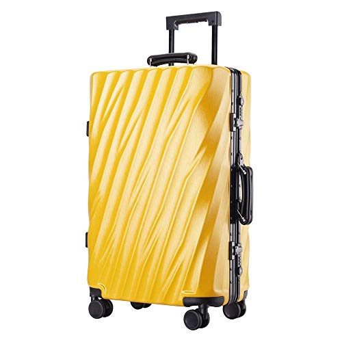 Travel Luggage Set 20 Inch 24 Inch 26 Inch 29 Inch Portable Carry On Luggage Suitcase Aluminum With TSA Locks Trolley Suitcase With Spinner Wheels Business Travel Bag Spinner Hardshell