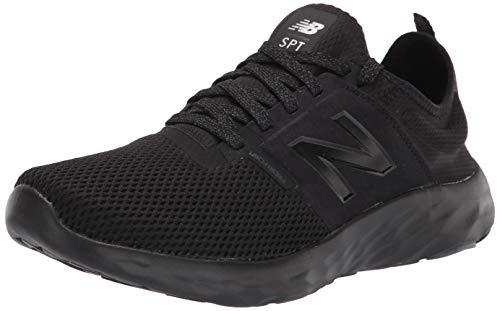 New Balance Men's SPT V2 Running Shoe, Black/Black/Lead, 11 M US
