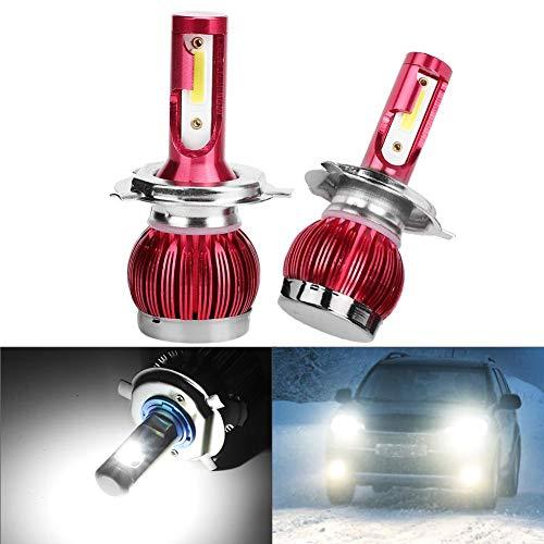 H13/9008/Bombillas LED para faros delanteros, 60 W, 10000 lúmenes, kit de conversión de faros LED súper brillantes, 6000 K, blanco frío, paquete de 2