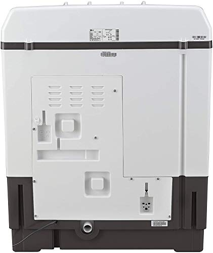 LG 7 Kg 4 Star Semi-Automatic Top Loading Washing Machine (P7020NGAY, Dark Gray, Collar scrubber) 7