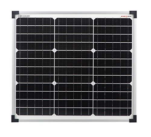 enjoy solar Mono 30W 12V Pannello solare monocristallino ideale per case mobili, casette da giardino, barche