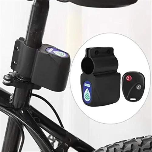Premium Ultra Loud Bike Alarm,Bike Burglar Alarm ABS Remote Control Vibration Alarm Shock Vibration Siren Wireless Security Anti, Compatible with All Bikes