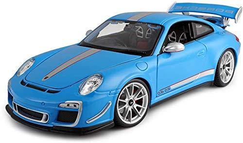 TYZXR Modellauto, Kinderauto Spielzeug Für Jungen Mädchen 1/18 Maßstab Porsche 911 GT3 RS Legierung Modellauto Die Cast Miniatur Geschenke Indoor Outdoor Spiele