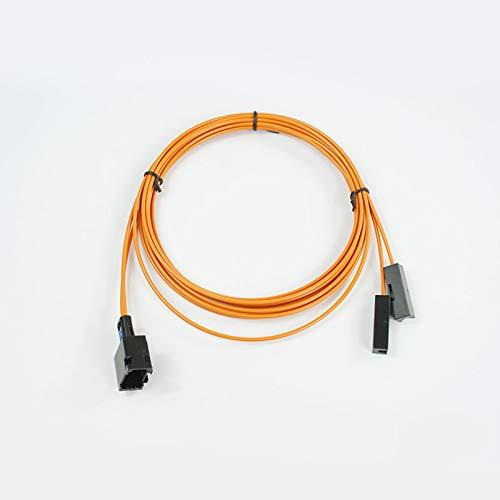 wroadavee Câble à fibre optique femelle et connecteur extensible.
