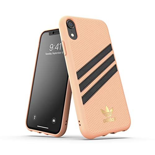 adidas Originals Funda iPhone XR Molded PU - Rosado
