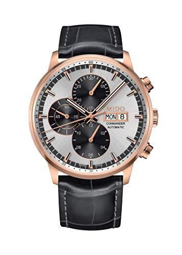 Mido Reloj Multiesfera para Hombre de Automático con Correa en Cuero M016.414.36.031.59