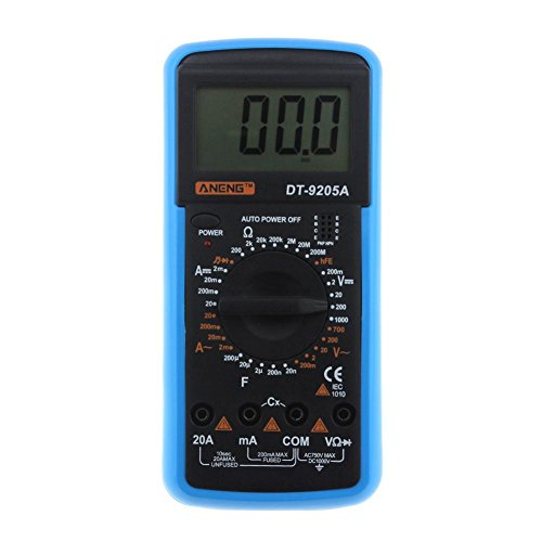 Seawang Digitales Multimeter, ANENG DT-9205A AC DC Digital Multimeter Elektrisches Handmessgerät