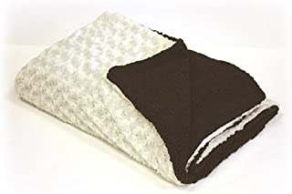 A Pet Project Exotic Two Sided Faux Fur Throw Blanket, 50