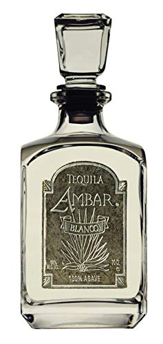 Tequila Ambar Blanco 100% Agave - 70 CL 38 Alc. Vol - Doble Destilado