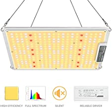 MAXSISUN 2020 Latest QB Style PB 1000 LED Grow Light, High PPFD Rating Sunlike Full Spectrum LED Grow Lights for Indoor Plants Veg and Bloom, Plant Growing Lamps to Cover a 2x2 ft Flowering Space