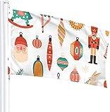 N/A USA Wächter Fahne Banner Hallo Flaggen Weihnachtsbaum Tanz Frühling Outdoor Garten Garten Garten Garten Dekoration 3 x 1,5 Fuß