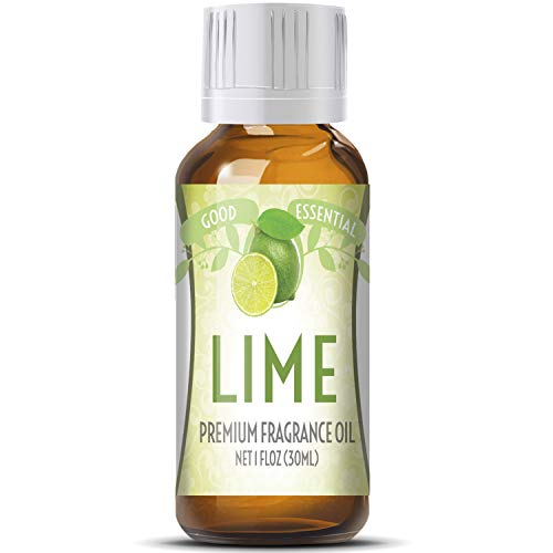 Lime Scented Oil by Good Essential (Huge 1oz Bottle - Premium Grade Fragrance Oil) - Perfect for Aromatherapy, Soaps, Candles, Slime, Lotions, and More!